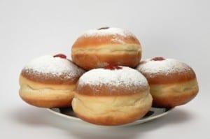 Hanukah Jelly Donuts