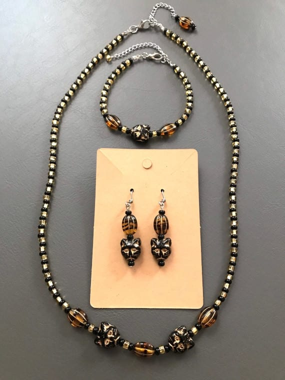 Panther Queen Jewelry Set
