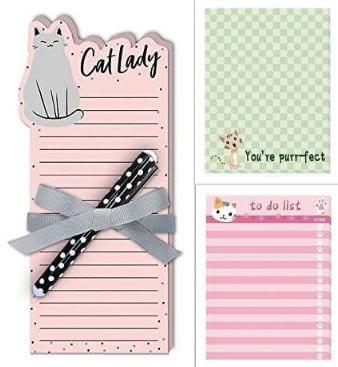 Cat Lady Notepad Set