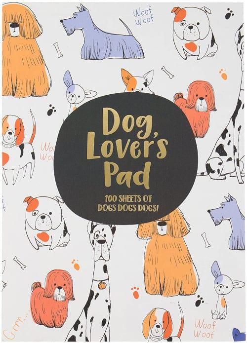 World Traveler Dog Lover's Note Pad